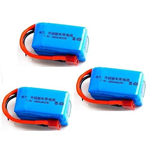 OUYBO YUKALA 7.4V 1800mAh 20C Lipo 2S actualizar la batería Max 40C...