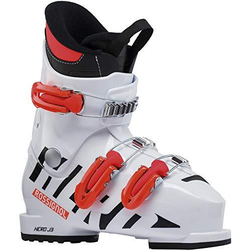 Rossignol Hero J4 skischoenen, kinderen, wit, 18,5