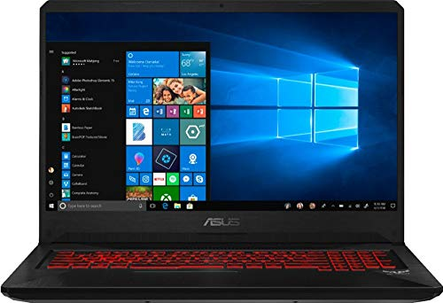 New ASUS TUF Gaming Flagship FX705GM 17.3' FHD IPS Display Laptop, Latest Intel 6-Core i7-8750H up to 4.1GHz, 16GB RAM, 512GB PCI-e SSD+2TB HDD, NVIDIA GeForce GTX 1060, Backlit Keyboard, Windows 10
