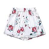cinnamou Frauen Bedruckte Shorts (S/M/L/XL/XXL) Frauen Sommer Print Shorts Sexy Sport Kurze Hose Mini Hot Pants -