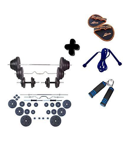 Grupo K-2 | Set de Body Pump | Conjunto con Pesas, Barra y Discos 120 KG | Unisex | Entrenamiento de Fitness | Ejercicios de Gimnasio en Casa