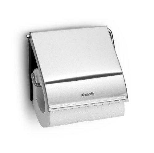 Toilettenpapierhalter Classic / Matt Steel