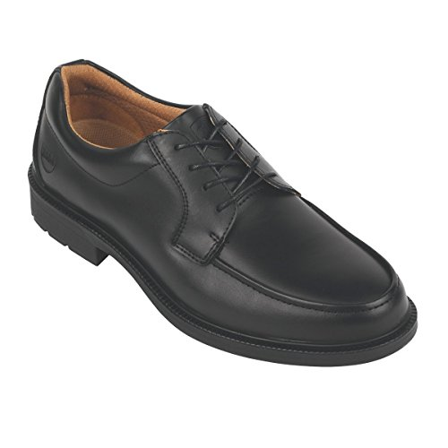 City Knights Derby Tie - Zapatos de seguridad ejecutivos, color negro, talla 6