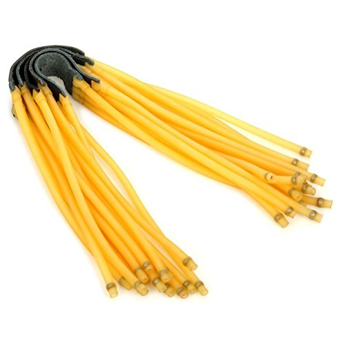 Hongci, confezione di 5 fasce elastiche di gomma per fionda giocattolo, con 6 elastici 5 pz Three rubber band 5pcs