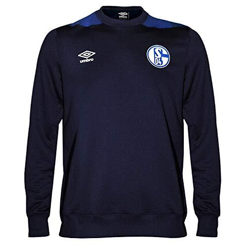 Umbro Schalke 04 Sweater Sweat Top Training (M)