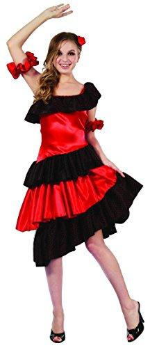 Costume ballerina di flamenco adulto S