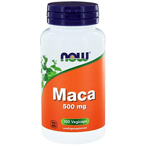 Now Foods, Maca 500 mg, 100 Capsules