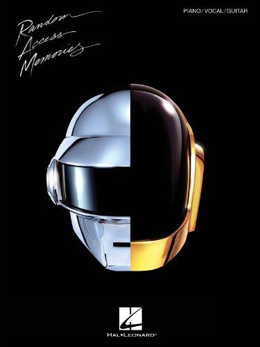 Hal Leonard Daft Punk - Random Access Memories for Piano/Vocal/Guitar