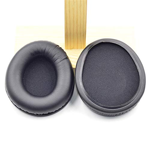 Replacement Soft Memory Foam Ear Pads Cushion for Creative Aurvana Live Headphones fit perfectly 23 AugT8,Black
