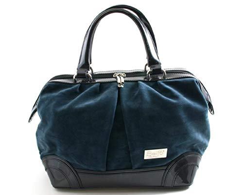 Beijo Handbag Couture Truly Madly Deeply Charcoal Blue