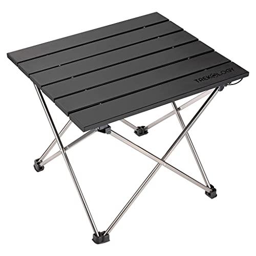 Campingtisch klappbar, Falttisch, Klapptisch Camping, Kleiner Campingtisch Faltbarer Picknick-Tisch, Mini Aluminium Beistelltisch, leichte Camping Tische für Outdoor Kochen Garten Wandern Reisen