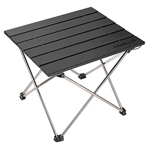 Trekology Portable Camping Table with Aluminium Table Top