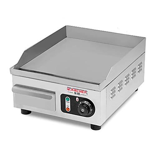 LPGY Plancha Eléctrica, Comercial Gran Parrilla De Encimera De Acero Inoxidable BBQ Hot Plate Teppanyaki Table Grill para Negocios De Cocina