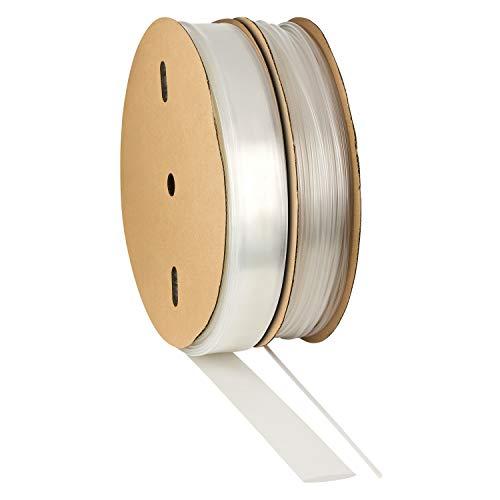 Schrumpfschlauch 2:1 transparent/klar Auswahl aus 10 Größen und 6 Längen Meterware von ISO-PROFI® (hier: Ø40mm - 1 Meter)