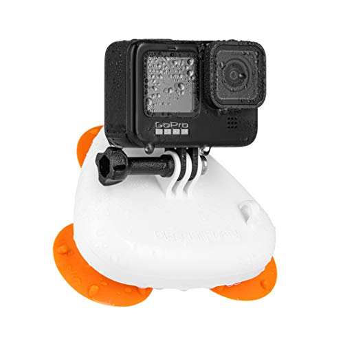 Bodhi Floaty Suction Cup Mount for GoPro - Perfect for Kayak, Surfboard, Boats, Cars - Floats with All Action Cameras