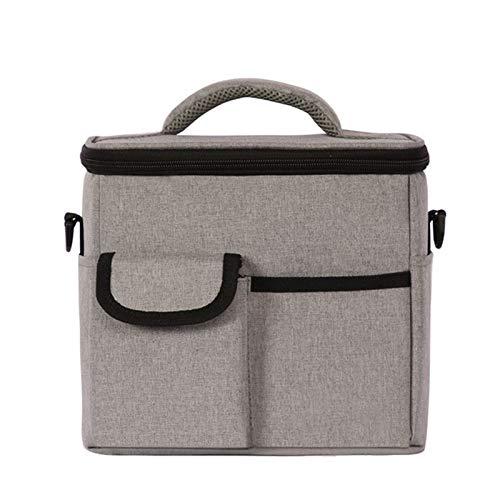 Bolsas de Almuerzo El almuerzo de un solo hombro recorrido de la caja bolsa a prueba de fugas bolsa de picnic al aire libre portátil del bolso del almuerzo refrigerada Para Playa/Picnic/Deportes