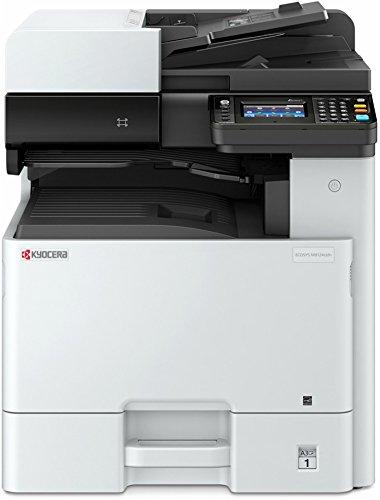 Kyocera Ecosys M8124cidn impresora láser multifuncional, fotocopiadora y escáner (doble cara, 24ppm A4 y 12 en A3, USB, Wifi, color)