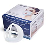 Peesnt 5 Pack 3D Silicone Face Bracket for Mask
