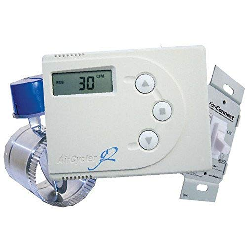 """Panasonic SACG2K-06 SelectCycler 6-in Duct Whole House Ventilation System, 6"""", Cream"""