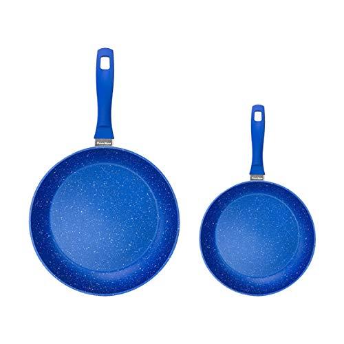 Flavorstone Pan Set Juego de Sarténes 2 Piezas, azul