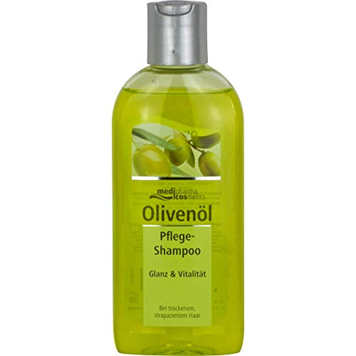 Medipharma Cosmetics Olivenöl Pflege Shampoo, 1er Pack(1 X 1 Stück)