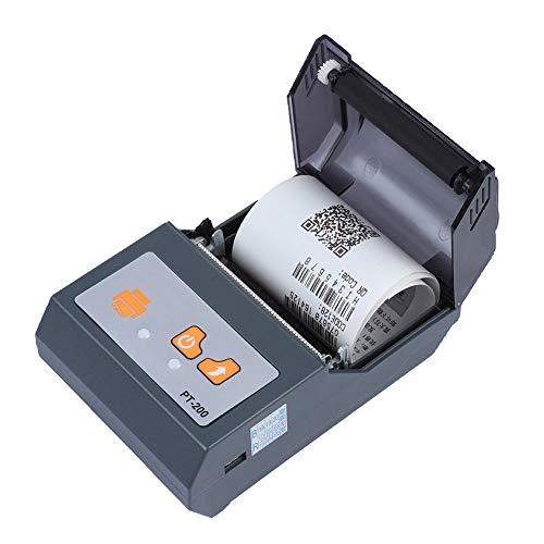 New Handheld Mini Thermal Printer, Jadpes Portable Mini Bluetooth Printer 58mm Handheld Wireless The...