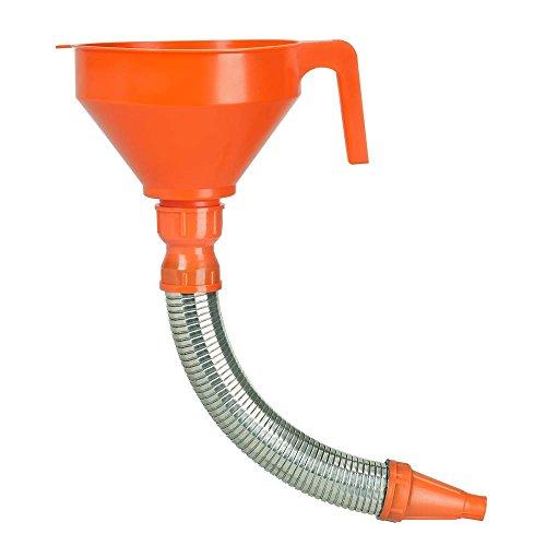 Pressol 02675 trechter met flexibele sproeier van metaal, 160 mm