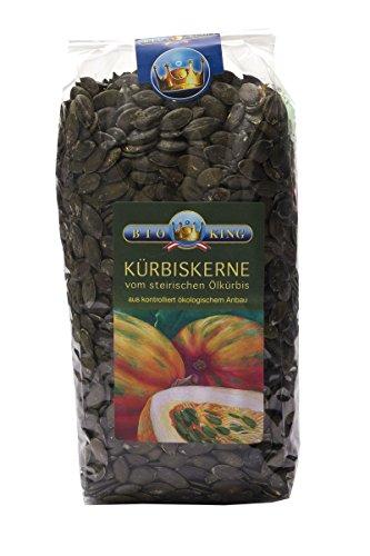 BioKing 1kg BIO KÜRBISKERNE vom steirischen Ölkürbis