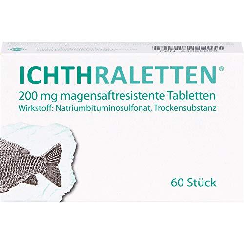 ICHTHRALETTEN Tabletten, 60 St. Tabletten