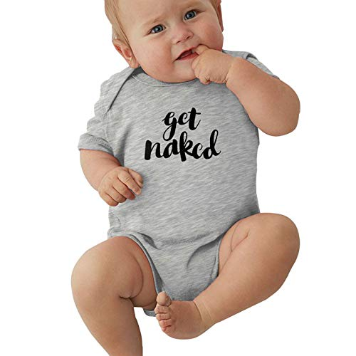 Pijama unisex para bebés y niñas, para niños de 0 a 2 años, gris, 2 años