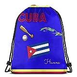 Bag hat Kuba Quilt Block Swatch 3D Print Kordelzug Rucksack Umhängetaschen Sporttasche Für...