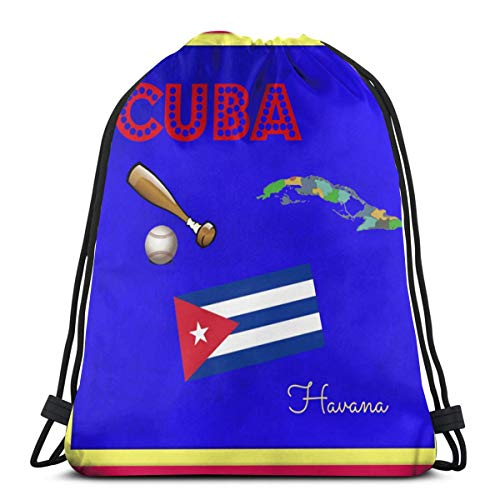 Bag hat Kuba Quilt Block Swatch 3D Print Kordelzug Rucksack Umhängetaschen Sporttasche Für Erwachsene 16,9