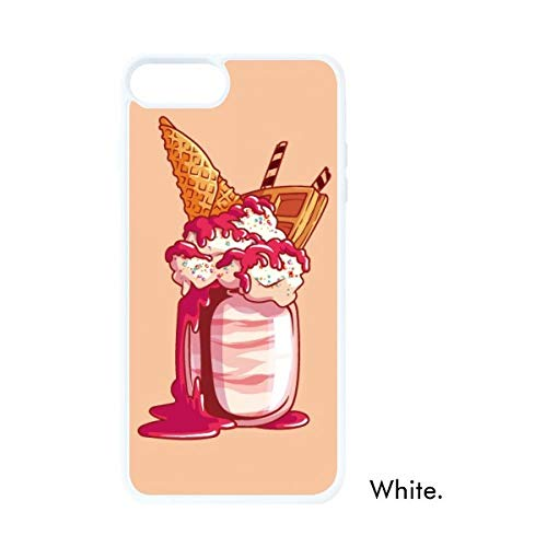 DIYthinker Cream Chocolade Koekjes Ijs Witte Phonecase Apple Cover Case Gift