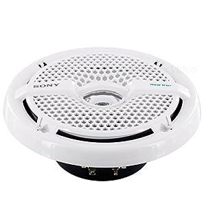 Sony XSMP1611 6.5-Inch Dual Cone Marine Speakers (White)