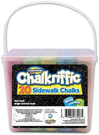 Chalkriffic Jumbo depot Chalk Inventory cleanup selling sale Set 20-Count