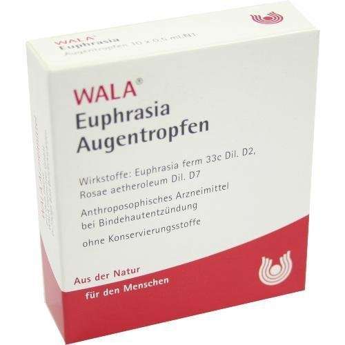 WALA Euphrasia Augentropfen, 2,5 ml Lösung