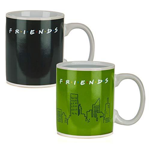 Paladone Products 97C8AFFF34 Tazza termosensibile Friends-How You Doin, Ceramica