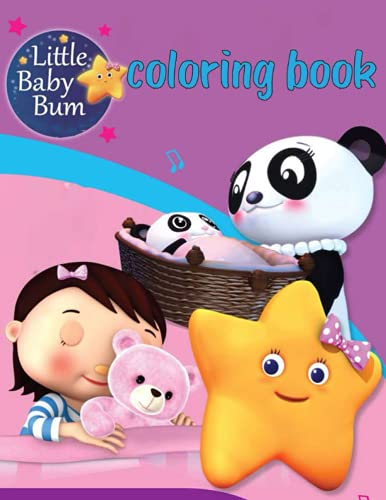 Little Baby Bum Coloring Book: Incredibles coloring book, use tempera, crayons, markers or colors. The Incredibles Coloring Book for kids and all fans!