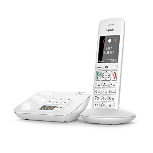 Gigaset E370A Big Button Cordless Phone (One Handset, E370A Single)
