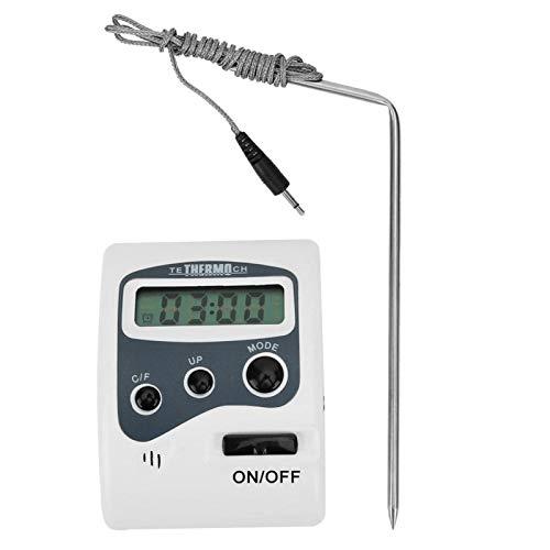 Tragbares tragbares Sonden-Lebensmittel-Thermometer Standardverarbeitung Einfach zu verwendender Grill-Temperaturmesser für die Küche zu Hause
