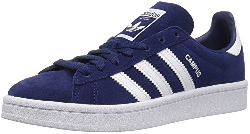 adidas Originals Kids' Campus J Sneaker,Dark Blue/White/White,5.5 Medium US Big Kid