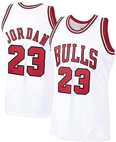 Michael Jordan - Camiseta de baloncesto para hombre, 23, color blanco