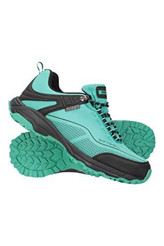 Mountain Warehouse Zapatillas Impermeables Collie para Mujer - Calzado liviano para Damas, Zapatos Transpirables, Zapatos Suaves para Caminar Carbón Talla Zapatos Mujer 39 EU