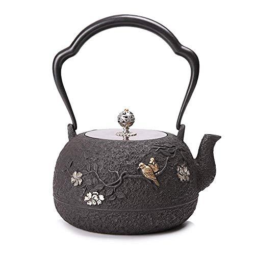 Teekanne Keramik Schwarz Exotische Gusseisen Teekanne Mit Rostschutz Innenwand Tetsubin Teekessel...