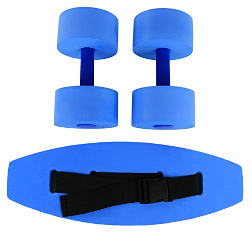 Save %29 Now! CanDo 20-4210B Aquatic Exercise Kit, Small, Blue