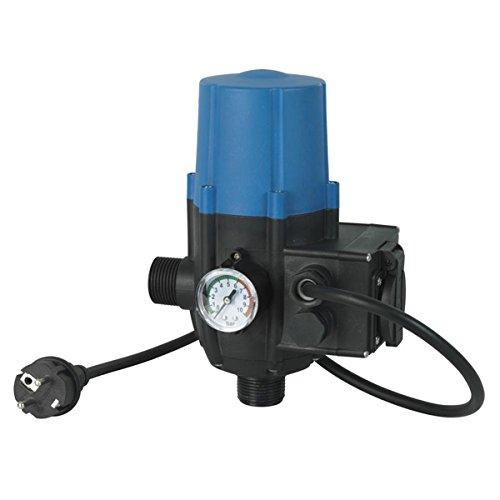 RIBILAND 10303 - Regulador electrónico (2200 W, 220/240 V, para Bomba de Agua de Superficie, Color Azul
