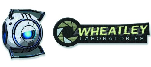 Crowded Coop A Portal Pack 2 Patches thermocollants Wheatley Laboratories (2)