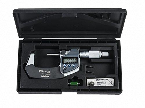 Mitutoyo 395-372-30 Mikrometer, Kugelkopf und Kugelspindel, 25,4-50,8 mm Reichweite