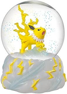 Matching World Pokemon Jolteon Snow Slow Life Globe