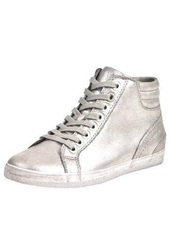 Gabor dames sneaker metallic zilver